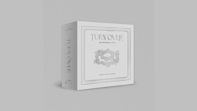 SF9 - TURN OVER (迷你9辑) KIT ALBUM