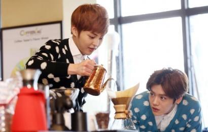 [新闻]140310 咖啡迷XIUMIN与鹿晗