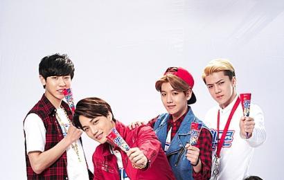 [新闻]140408 EXO-K 代言乐天冰淇淋