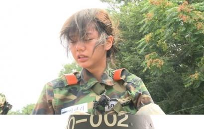 [新闻]140829 《真正的男人》女军接受了化生放训练