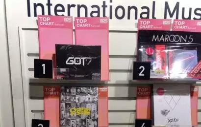 [新闻]141005 GOT7登上泰国B2S专辑销售第一名