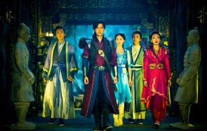 [新闻]141009 李易峰加盟金鹰颁奖晚会 《古剑》合体