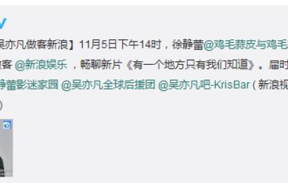 [新闻]141105 新浪娱乐访谈观看教程