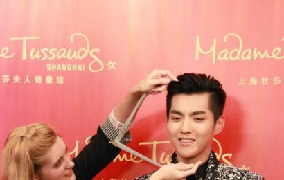 [新闻]141202 上海杜莎夫人蜡像馆首位90后明星—吴亦凡