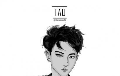 [分享]150222 粉丝手绘EXO漫画,不一样的画风11p