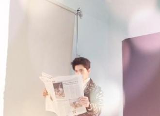 [新闻]151010 杨洋杂志拍摄花絮视频 一个认真自带萌的BOY
