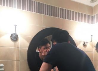 [分享]160512 动手达人黄景瑜 对镜为自己画眉