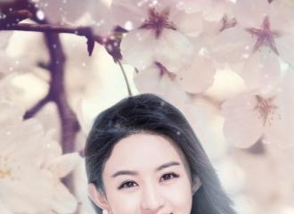 [分享]160622 粉丝制美图:花丛中笑意盎然的赵仙子