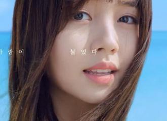 [分享]160717 所炫最美瞬间之白裙少女海边戏水