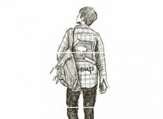 [分享]161001 背帆布包的帅气少年  灿多九宫格漫画版预告照公开