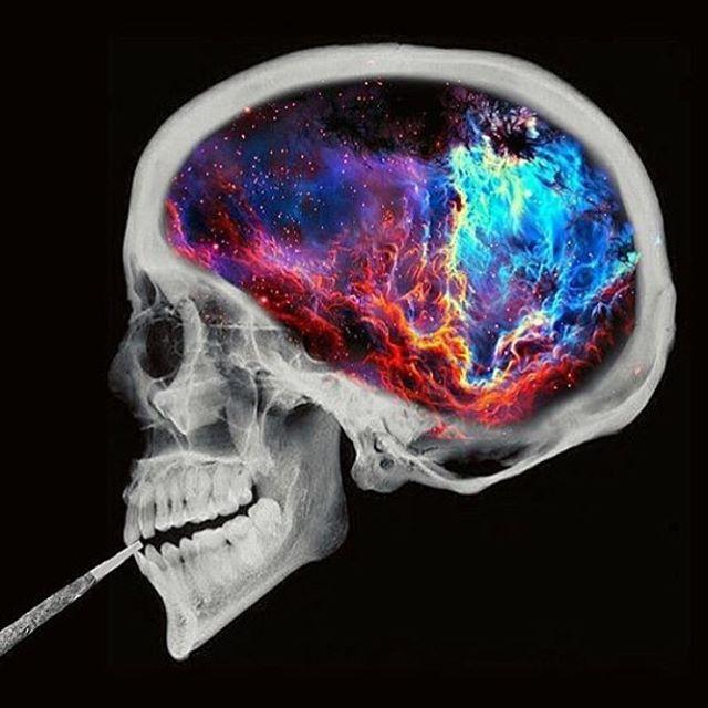 [新闻]161115 Min更新ins:色彩斑斓无穷无尽的人脑透视