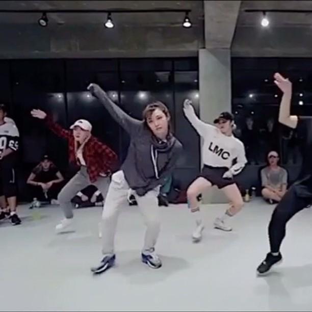 [新闻]161118 MIN练习室style Girl Crush不解释!
