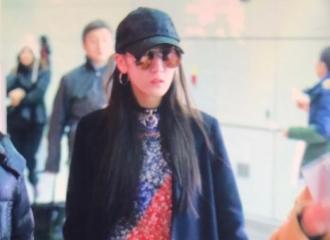 [分享]161124 迪丽热巴上海飞北京时尚科普