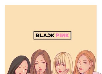 [分享]170115 BLACKPINK饭绘再来袭  四人四色的美丽小姐姐们