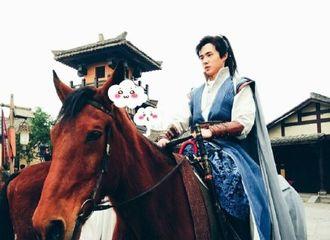 [分享]170117 《琅琊榜2》路透:骑着黑马的小哥哥也是王子
