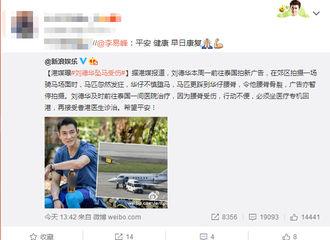 [新闻]170118 刘德华坠马受伤 李易峰祝愿早日康复