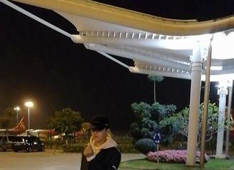 [新闻]170122 吴亦凡清晨抵达广州 揉眼睛似感冒惹人心疼