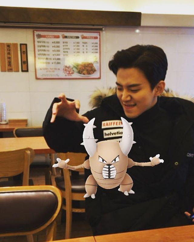 [2PM][分享]170203 出现在理事长饭桌上的虫子