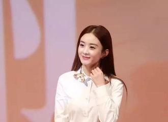 [分享]170217 白衬衫女神!赵丽颖时尚搭配白衬衫少女气息满满