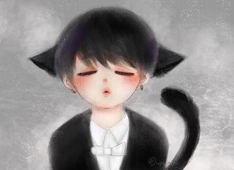 [分享]170217 饭绘美图分享 绅士花猫耳朵格外可爱
