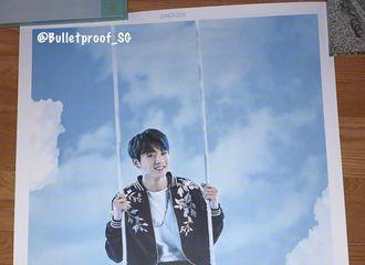 """[分享]170219 首尔con海报""""上天""""莫非是七名天使?"""