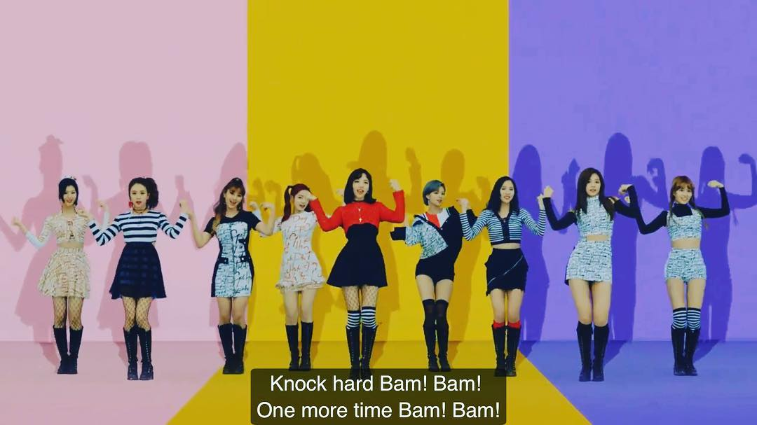 [分享]170220 BamBam强势出镜师妹团新曲 feat.走在时尚前端的九尾狐