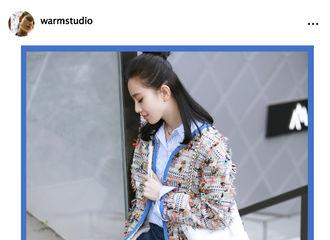 [分享]170322 刘诗诗清新街拍公开 随性而又不失帅气