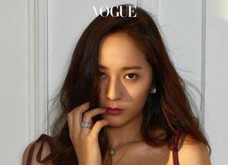 [分享]170322 郑秀晶《Vogue Korea》四月刊画报出新 直击心脏的魅力