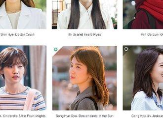 """[新闻]170323 2017 Drama Fever Awards投票开启 宋慧乔入选""""最佳女演员"""""""