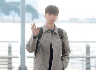 [新闻]170324 安宰贤休闲装现身仁川机场 为慈善晚宴飞赴香港