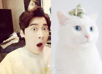 [分享]170326 一喵一样!李易峰与猫迷之相似可爱爆表