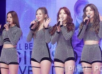[新闻]170327 Girl's Day新专辑发表会带来新歌《I'll be yours》+《Love Again》初舞台