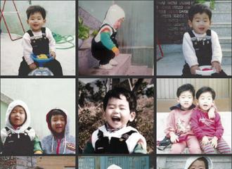 [分享]170328 谢谢你作为HOYA出道 回顾浩沅幼时照片