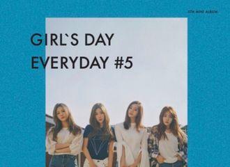 [新闻]170328 Girl's Day新专辑配置图出炉!神秘的大海蓝风格