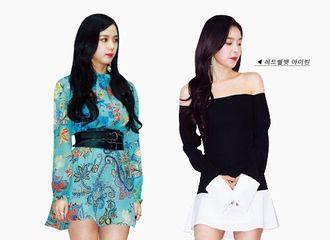 [新闻]170429 Jisoo-Irene美貌认证!无法逾越的顏值高度