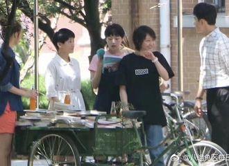 [新闻]170429 《为了你》再曝新路透 郑爽黑衣超短发显帅气