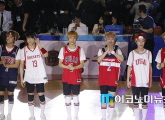 [新闻]170521 NCT DREAM助阵公益活动 希望篮球全明星祝贺公演出席