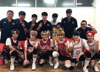 [分享]170522 NCT DREAM篮球全明星祝贺公演后台合影公开  青春洋溢的活力少年们