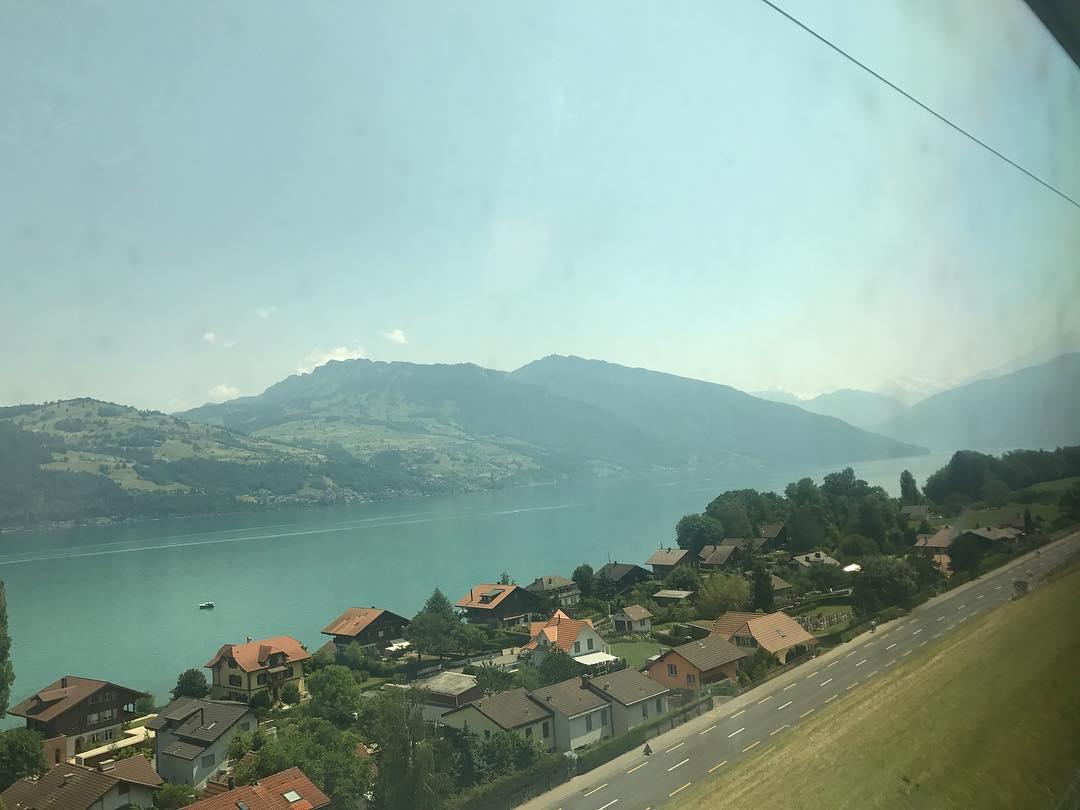 [分享]170622 享受瑞士短暂休假的利特 想念成员的暖心队长
