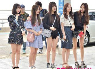 [新闻]170622 GFRIEND现身仁川机场前往美国参加KCON纽约站公演