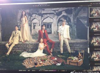 [分享]170624 《河伯的新娘2017》主演海报拍摄现场公开 揭秘神秘复古海报是如何诞生的