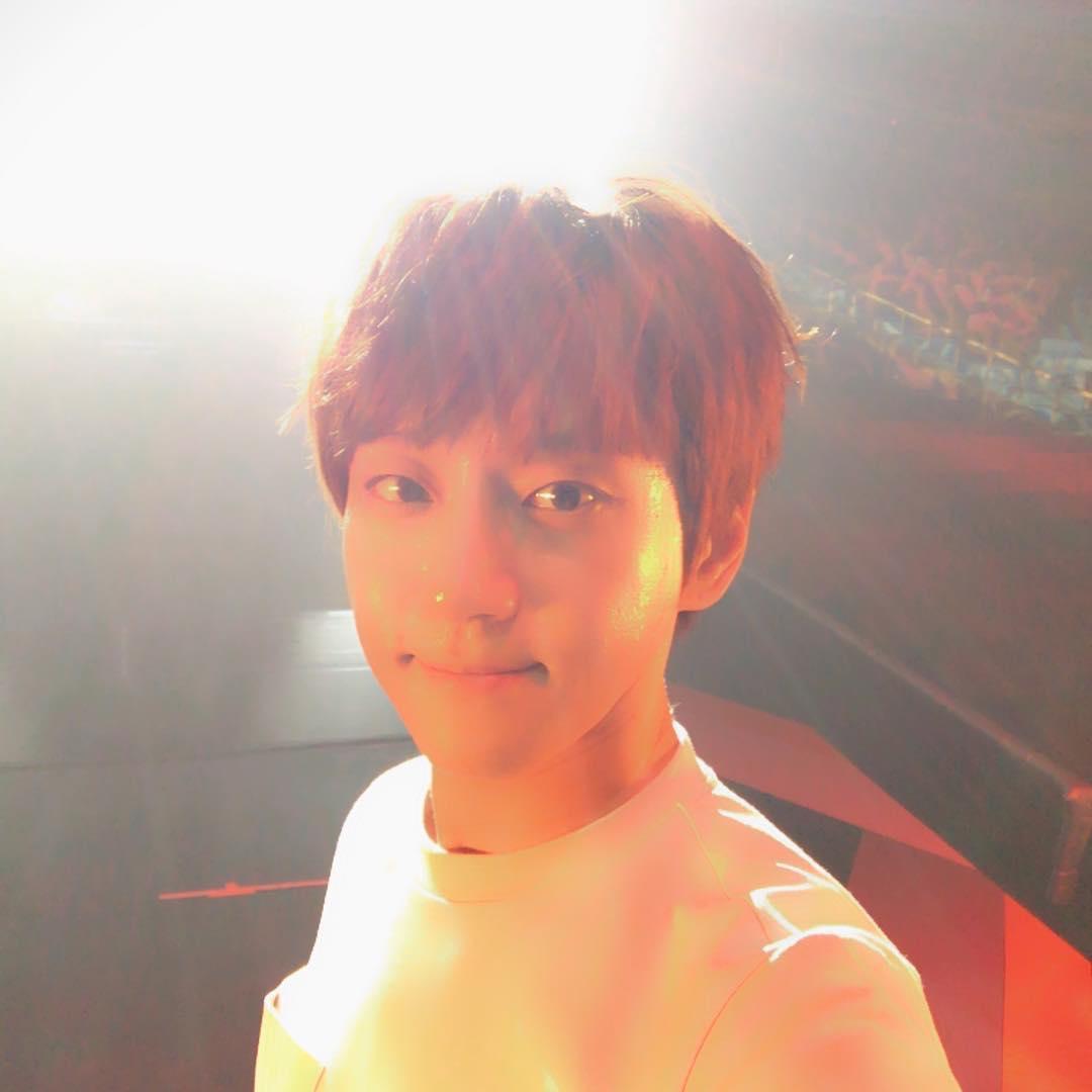 [分享]170624 黄致列首尔演唱会彩排结束  一切准备就绪只等开唱