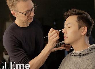 [新闻]170722 陈伟霆化身安利小能手 拍摄间隙也要向国外化妆师安利《醉玲珑》