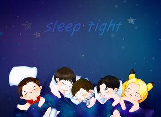 """[分享]170727 手绘版""""Sleep Tight"""",今夜LIGHT好梦预定"""