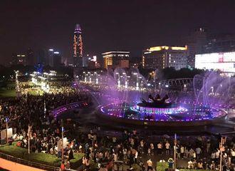 [新闻]170904 《秦时丽人明月心》地标应援再次点亮一座城市 黑夜之中熠熠生辉
