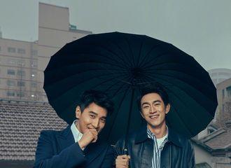 [新闻]180113 林更新晒与赵又廷写真:最美的是躲雨屋檐下的我