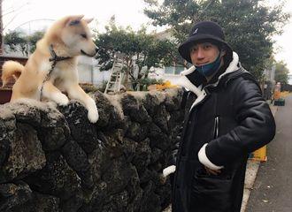 """[分享]180119 狗与""""狗""""的对视 黄致列济州岛近况公开"""