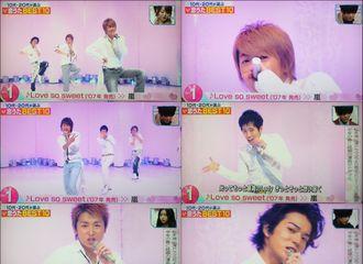 [新闻]180127 10代 20代选择的best10  Love so sweet 获得第一