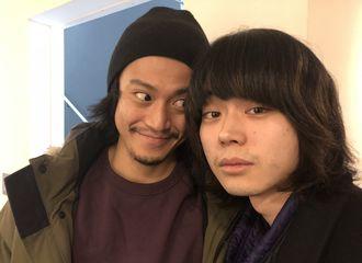 [新闻]180131 《银魂》导演twitter更新  发布小栗旬与菅田将晖合照