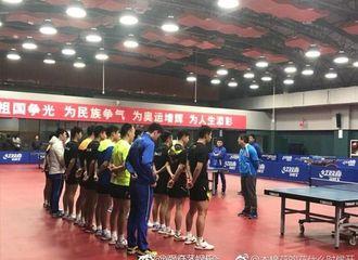 [新闻]180311 张继科恢复训练与马龙再同框 将争夺世乒团体赛名额